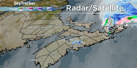 halifax weather radar forecast