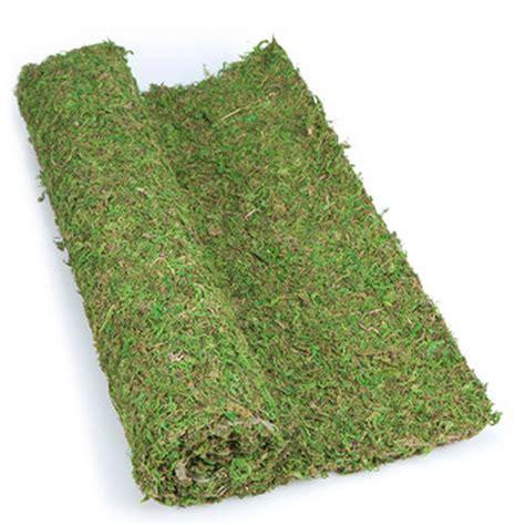 preserved moss sheet table runner artificial greenery
