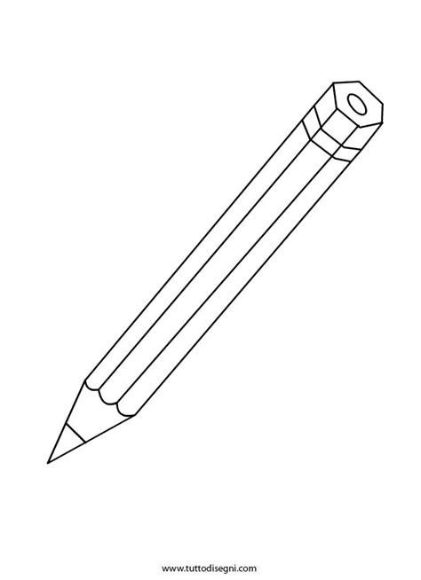matita immagini da disegnare matita da colorare tuttodisegni