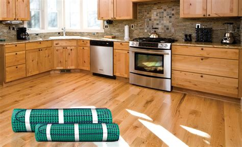 heated kitchen floor hale 1599