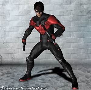 Batman Arkham Knight - Nightwing New 52 by Sticklove on ...