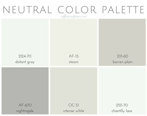 neutral color palette in 2019 paint colors neutral paint colors neutral colour palette