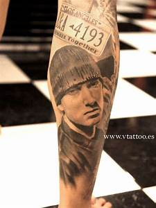 EMINEM tattoo | www.vtattoo.es | Miguel Bohigues | Flickr