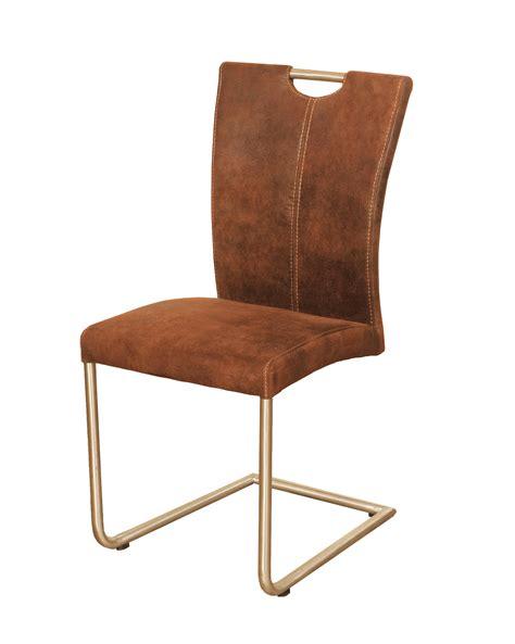 6 Stuhle Esszimmer by Esszimmer Schwing Stuhl Antiklederlook Braun Heike Ii