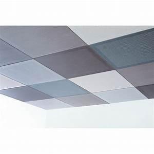 Dalles De Plafond A Coller : dalle de plafond acoustique microperfor e oberflex ~ Nature-et-papiers.com Idées de Décoration