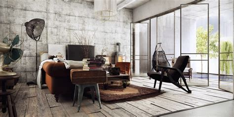 An Industrial Home With Warm Hues : Warm Industrial Design