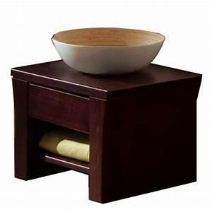 Table De Chevet Wengé : photo table de chevet wenge but ~ Teatrodelosmanantiales.com Idées de Décoration