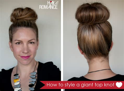 style  giant top knot   dont   lot