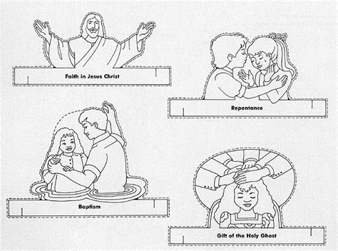 Baptism Coloring Pages - Eskayalitim