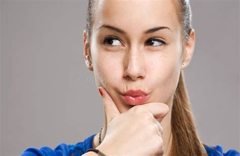 Cool Teen Girl Stock Image Image Of Copy, Attractive