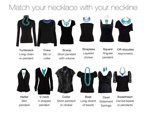 How To Accessorize A Boat Neck Dress by The Right Necklace For Popular Necklines Wedunit Jewels