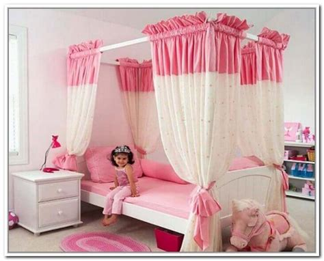 Canopy Bed Curtains Inspiration