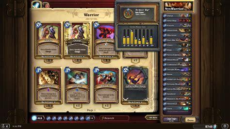 Best Warrior Deck Hearthstone Picture