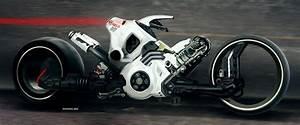 Mc Concept : motorcycle concept by paul denton futuristic design and scifi art ~ Gottalentnigeria.com Avis de Voitures