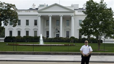 white house security white house fence jumper got farther than previously