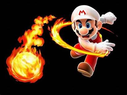 Mario Super Wallpapers Backgrounds Nintendo Galaxy Fire