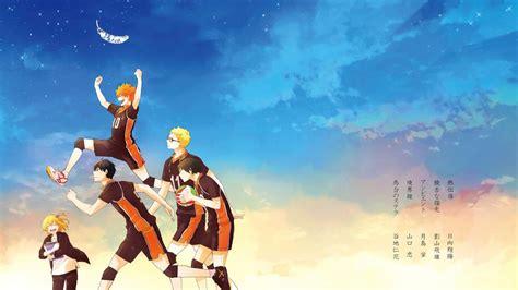 haikyuu anime karasuno volleyball team