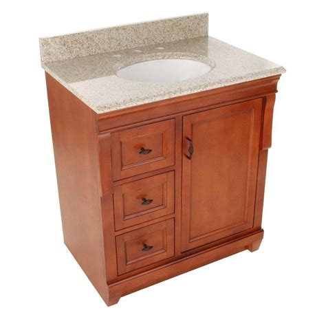foremost naples 31 in w x 22 in d bath vanity with left