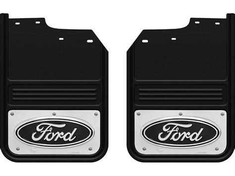 Ford Mud Flaps by 2017 Ford F450 F550 Gatorback Mud Flaps Black Ford Oval