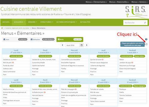 logiciel gestion cuisine gestion cuisine centrale villement