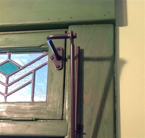 steel transom window operator vintage dark bronze finish