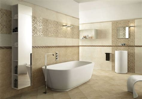 Badezimmer Armaturen Modern by Fliesen Badezimmer Mediterran Beige Sandfarbe Badewanne