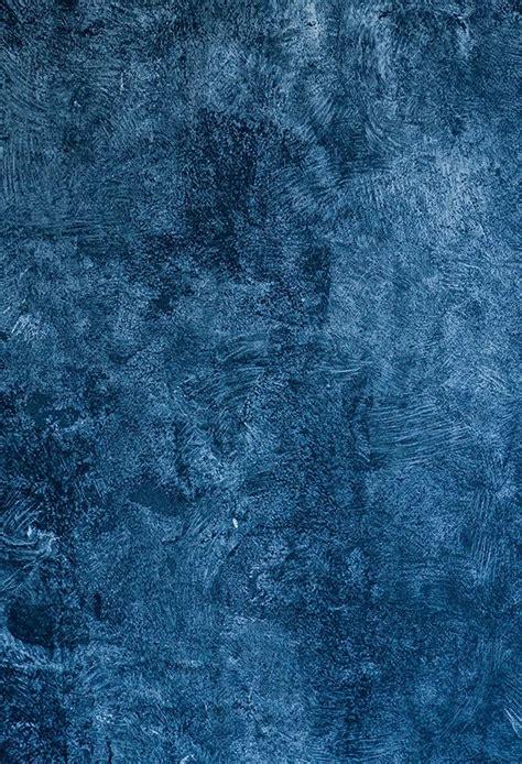 Blue Abstract Texture Portrait Photo Backdrop D155 Blue