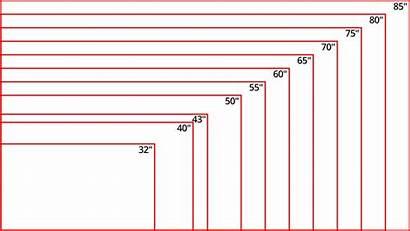 Tv 55 Distance Inch 65 Calculator Dimensions