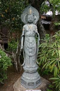 Japanese Temple Garden Statues