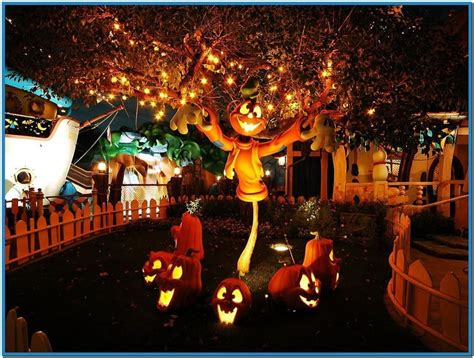 Disney Halloween Screensavers Wallpapers
