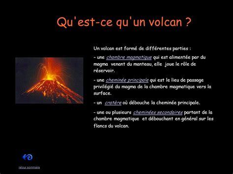 qu est ce qu une chambre les volcans et les séismes ppt télécharger