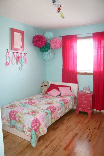 bedroom with pink walls bouncing off the walls finally big girl room reveal 14476 | 217f745033f3e3548ca86d15b6add85e girls pink bedroom ideas vintage girls rooms