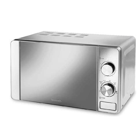 Goodmans Stainless Steel Microwave   Kitchen Appliances   B&M
