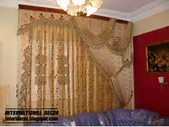Curtain Living Room Design by Top Catalog Of Luxury Drapes Curtain Designs For Living Room Interior 2015