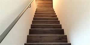 Offene Treppe Schließen Vorher Nachher : bodenrenovierung laminat verlegen ber zwei etagen ~ Buech-reservation.com Haus und Dekorationen