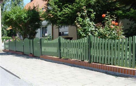 Zaun Aus Aluminium In Grün