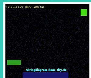 Fuse Box Ford Taurus 2003 Ses  Wiring Diagram 18337