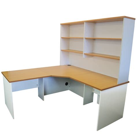 bw it help desk origo corner workstation office desk home study beech