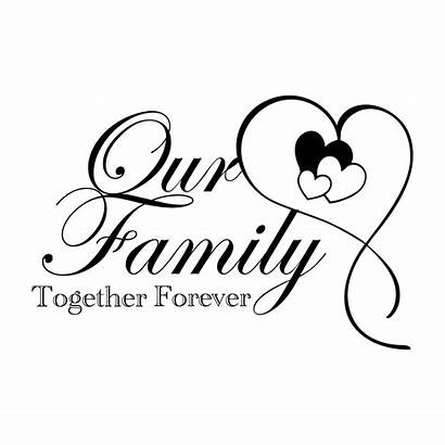 Forever Together Decal Memory Border Loving Quotes