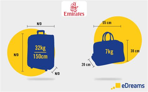emirates hand luggage  checked baggage allowance