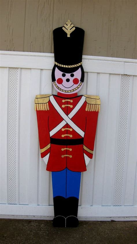 toy soldier christmas yard display life size ft