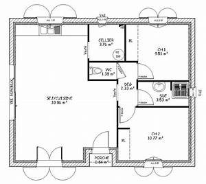 les plan d maison simple With plan de maison simple