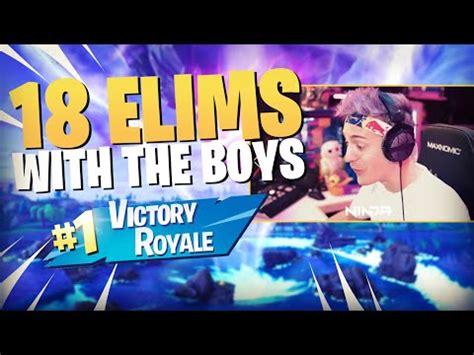 solid  elim victory royale   boys