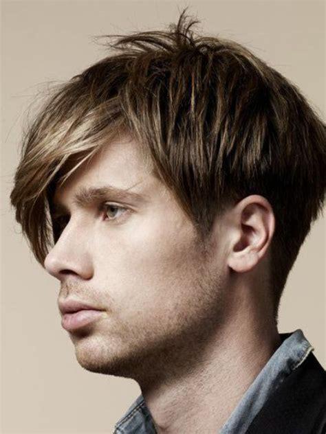 angular fringe hairstyle ideas  men styleoholic