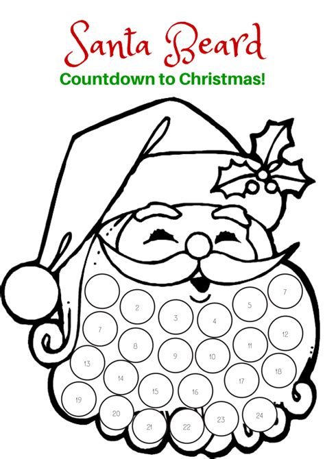 Deer Lollipop Cover Template Pdf by Countdown To Christmas With This Free Printable Santa
