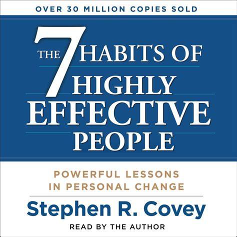 Resume 7 Habits by The 7 Habits Of Highly Effective Audiobook