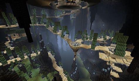 Chikagai -- Underground City. Minecraft Project