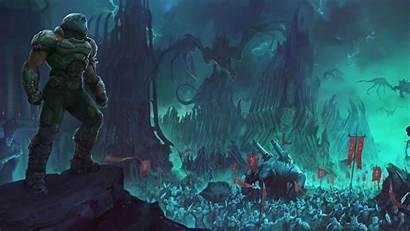 Doom Eternal Wallpapers 4k Slayer Heaven Games