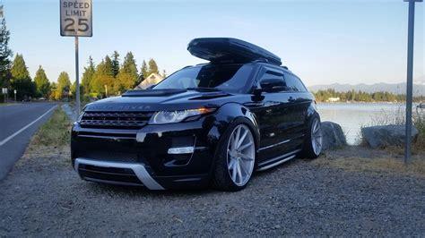 bagged range rover evoque speedonline porsche forum