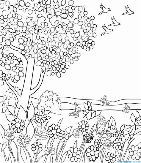 paisaje para pintar primavera 1 Web del maestro